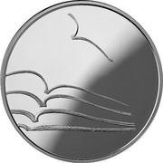 Lithuania 5 Euro Literature 2015 LMK Proof  coin reverse
