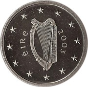 Ireland 5 Euro Special Olympics World Summer Games in Dublin 2003 KM# 40 ÉIRE 2003 coin obverse