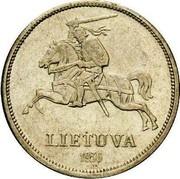 Lithuania 5 Litai Basanavicius Pattern 1936 KM# Pn5 LIETUVA 1936 coin obverse