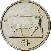 Ireland 5 Pence 1994 KM# 28 Decimal Coinage coin reverse