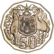 Australia 50 Cents 50th Anniversary of Dodegagon 50c 2019 KM# 68.1 50 SD coin reverse