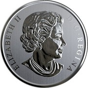 Canada 50 Cents Spooky Canada - HI Ottawa Jail Hostel 2019 ELIZABETH II D • G • REGINA coin obverse