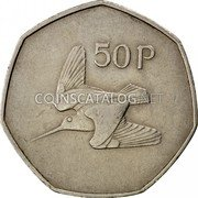 Ireland 50 Pence 1970 KM# 24 Decimal Coinage coin reverse