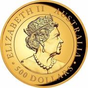 Australia 500 Dollars Australian Wedge-Tailed Eagle 2019 ELIZABETH II AUSTRALIA JC 500 DOLLARS coin obverse