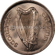 Ireland 6 Pence 1935 KM# 5 Sterling Coinage coin obverse