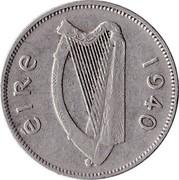Ireland 6 Pence 1940 KM# 13 Republic ÉIRE 1940 coin obverse