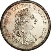 Ireland 6 Shilling Token George III 1804 KM# Tn1 GEORGIUS III DEI GRATIA REX. coin obverse