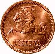 Lithuania Centas 1936 KM# 79 Republic LIETUVA coin obverse