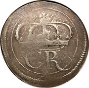 Ireland Crown Charles I (1643-1644) Varieties exist KM# 63 CR coin obverse