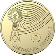 Australia Dollar The Great Aussie Coin Hunt - O 2019 O ONE DOLLAR • OUTBACK coin reverse