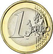 Ireland Euro 2nd map 2011 KM# 50 1 EURO LL coin reverse