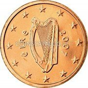 Ireland Euro Cent 2007 Proof KM# 32 Euro Coinage coin obverse