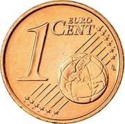 Ireland Euro Cent 2007 Proof KM# 32 Euro Coinage 1 EURO CENT LL coin reverse