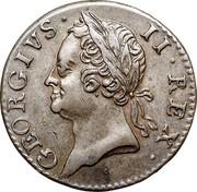 Ireland Farthing George II 1760 KM# 135 GEORGIUS II REX coin obverse