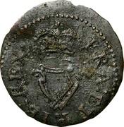 Ireland Farthing James I 1613 KM# 22.1 FRA: ET: HIB: REX: coin reverse