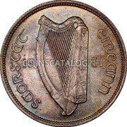 Ireland Florin 1931 KM# 7 Sterling Coinage coin obverse