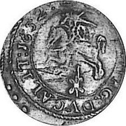 Lithuania Grosz 1652 KM# 42 Standard Coinage coin reverse