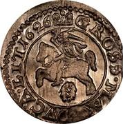 Lithuania Grosz Wilno 1626 KM# 32 GROSS MA...VCA LIT 1626 coin reverse