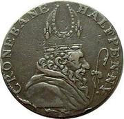 Ireland Halfpenny (Wicklow - Cronebane) CRONEBANE HALFPENNY. coin obverse