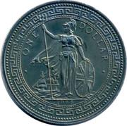 UK One Dollar Captain Kidd 1998 • ONE DOLLAR • 1998 coin obverse