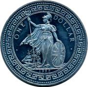 UK One Dollar Eaahnikh Ahmokpatia 1998 • ONE DOLLAR • 1998 coin obverse