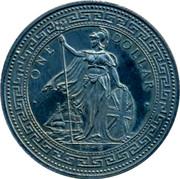 UK One Dollar Piet Heyn 1998 • ONE DOLLAR • 1998 coin obverse