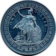 UK One Dollar Portuguese Republic 1998 • ONE DOLLAR • 1998 coin obverse