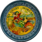 UK One Dollar Sir Henry Morgan 1998 SIR HENRY MORGAN coin reverse