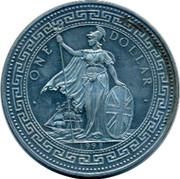 UK One Dollar United Kingdom 1998 • ONE DOLLAR • 1998 coin obverse