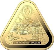 Australia One Hundred Dollars Batavia 2019 ELIZABETH II • AUSTRALIA 2020 JC ONE HUNDRED DOLLARS coin obverse
