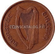 Ireland Penny 1928 KM# 3 Sterling Coinage coin obverse