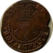 Ireland Penny Elizabeth I 1601 KM# 6.1 POSVI.DEV.ADIVTOREM.MEV. coin obverse