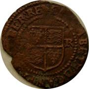 Ireland Penny Elizabeth I 1601 KM# 6.2 ELIZABETH.D.G.AN.FR.ET.HIBER.RE coin reverse