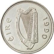 Ireland Punt 1990 Proof KM# 27 Decimal Coinage ÉIRE 1990 coin obverse