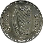 Ireland Punt Millennium 2000 KM# 31 ÉIRE 2000 coin obverse