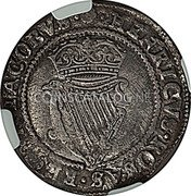 Ireland Shilling (1603) KM# 14.1 Standard Coinage coin reverse