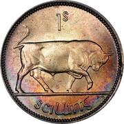 Ireland Shilling 1942 KM# 14 Republic 1S SCILLING PM coin reverse