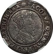 Ireland Shilling James I (1603) KM# 14.1 IACOBVS D G MAG BRIT FRA ET HIB REX coin obverse