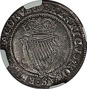 Ireland Shilling James I (1603) KM# 14.3 HENRICVS ROSAS REGNA JACOBVS coin reverse