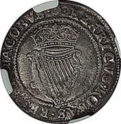 Ireland Shilling James I ND KM# 14.2 HENRICVS ROSAS REGNA JACOBVS coin reverse