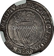 Ireland Shilling ND KM# 14.2 Standard Coinage coin reverse