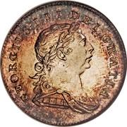 Ireland Ten Pence Token (George III) KM# Tn3 GEOGRIVS III DEI GRATIA coin obverse