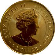 Australia 1 Dollar 100th Anniversary of the First Flight England to Australia 2019 P UNC PNC ELIZABETH II AUSTRALIA 2010 JC 1 DOLLAR coin obverse