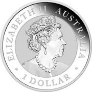 Australia 1 Dollar Hand of Faith 2020 P ELIZABETH II AUSTRALIA 1 DOLLAR coin obverse