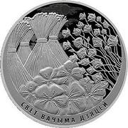 Belarus 1 Rouble The World through Children's Eyes 2019 Proof-like СВЕТ ВАЧЫМА ДЗЯЦЕЙ coin reverse
