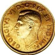 Canada 10 Cents George VI Specimen Trial Thick planchet 1937 KM# TS7 GEORGIVS VI D:G:REX ET IND:IMP: coin obverse