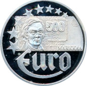 Finland 10 Euro 1997 Proof Euro Coinage EURO coin obverse