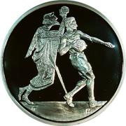 Greece 10 Euro Summer Olympics 2004 in Athens - Handball (2004) Proof KM# 205 coin reverse