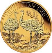 Australia 100 Dollars Australian Emu 2019 AUSTRALIAN EMU 2019 1OZ 9999 GOLD coin reverse