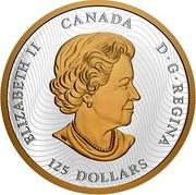 Canada 125 Dollars Lucky Dragon 2020 ELIZABETH II CANADA D•G•REGINA 125 DOLLARS coin obverse